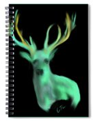 Reindeer Spiral Notebook