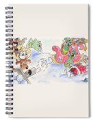 Reindeer Games Spiral Notebook