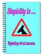 Rejecting Bigstock Donkey 171252860 Spiral Notebook