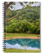 Relax And Sit A Spell Spiral Notebook