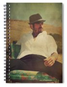 Relax And Stay A While Spiral Notebook