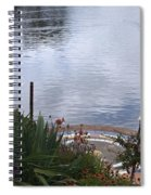 Relaxing By The Lake Spiral Notebook