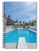 Relaxing By The Pool2 Spiral Notebook