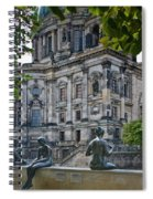 Relaxing By The River Spiral Notebook