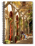 Relaxing In The Breezeway Spiral Notebook