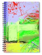 Relaxing Intermission Spiral Notebook