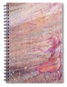 Releasing The Daisies Spiral Notebook