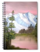 Relections In Pink Spiral Notebook