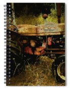 Relic In The Field Spiral Notebook