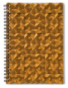 Relief M2 Orange Spiral Notebook