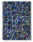 Relief M3 Corrugated Metal Spiral Notebook