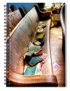 Religion Abandonded Spiral Notebook