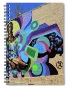 Reloaded Or Education Is A Powerful Weapon Mural -- 2 Spiral Notebook