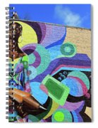 Reloaded Or Education Is A Powerful Weapon Mural Spiral Notebook