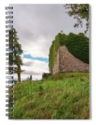 Remains Of Castle Lachlan Spiral Notebook