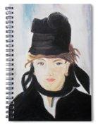 Remake Portrait Of Berthe Morisot Spiral Notebook