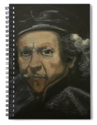 Rembrandt And Colour Spiral Notebook