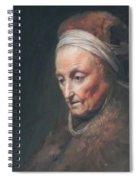 Rembrandt Mother Spiral Notebook
