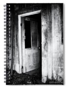Remember The Past Spiral Notebook