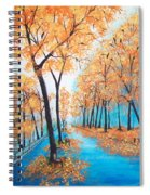 Remembering Autumn Spiral Notebook