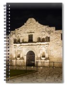 Remembering The Alamo Spiral Notebook