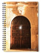 Remembering The Spirit Of The Alamo Spiral Notebook