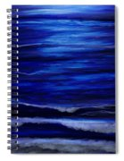 Remembering The Waves Spiral Notebook