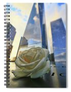 Remembering With A Rose Spiral Notebook