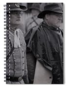 Remembrance Day Parade Spiral Notebook