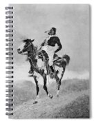 Remington: Comanche, C1890 Spiral Notebook