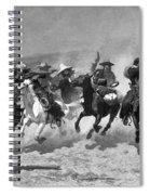 Remington: Dash For Timber Spiral Notebook