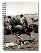 Remington: Native American Village Spiral Notebook