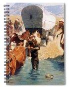 Remington: The Emigrants Spiral Notebook