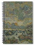 Reminiscence Of Brabant Saint Remy De Provence March - April 1890 Vincent Van Gogh 1853  1890 Spiral Notebook