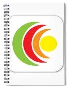 Remix - App Icon Spiral Notebook