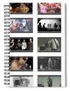 Remix - Videos  Page Spiral Notebook
