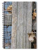 Remnants Of Fall Spiral Notebook