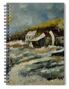 Remote Houses In The Ardennes  Spiral Notebook