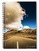 Remote Rural Roads Spiral Notebook