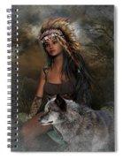 Rena Indian Warrior Princess Spiral Notebook