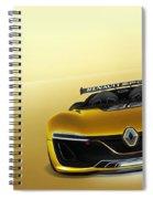Renault Sport Spider 4k Spiral Notebook