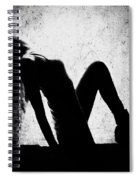 Renew And  Repeat Bw Spiral Notebook