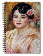Renoir: Adele Besson, 1918 Spiral Notebook