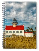 Renovated East Point Lighthouse Spiral Notebook