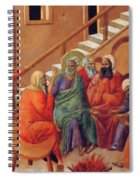 Renunciation Of Peter 1311 Spiral Notebook