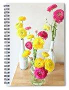 Renunculus Spiral Notebook