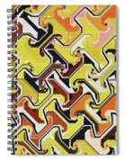 Repetitious Spiral Notebook