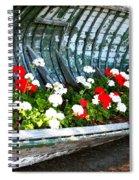 Repurposed Boat Spiral Notebook