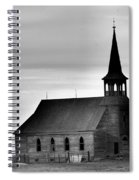 Requiem For An Old Church  Spiral Notebook