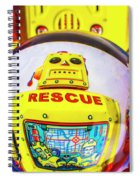 Rescue Yellow Bot Spiral Notebook